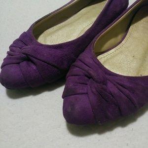 Shoes - Purple flats